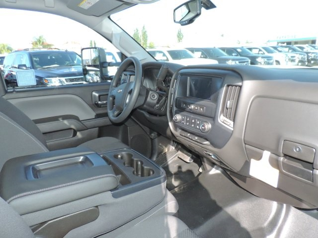 2017 Silverado 3500 Regular Cab DRW, Harbor Contractor Body #M17476 - photo 14