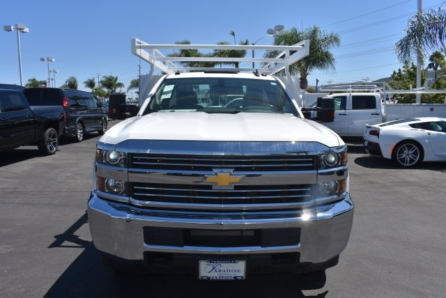 2017 Silverado 3500 Regular Cab, Harbor Flat/Stake Bed #M17476 - photo 4