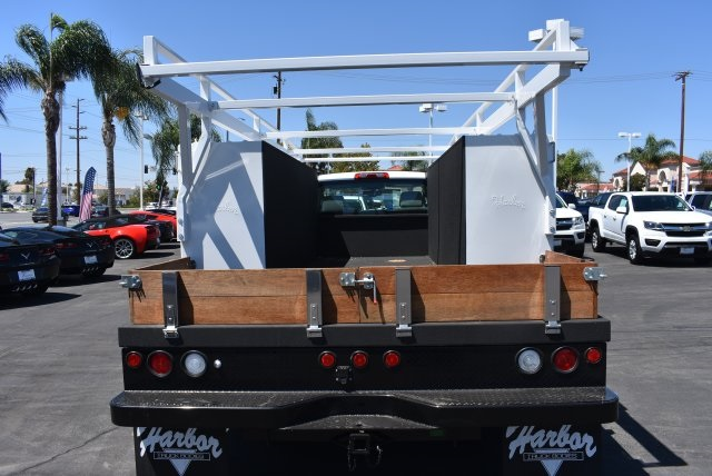 2017 Silverado 3500 Regular Cab, Harbor Flat/Stake Bed #M17476 - photo 11