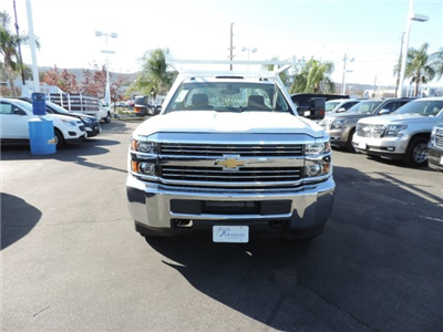 2017 Silverado 3500 Regular Cab DRW, Harbor Standard Contractor Contractor Body #M17476 - photo 3