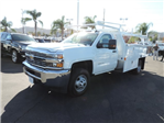 2017 Silverado 3500 Regular Cab DRW, Harbor Standard Contractor Contractor Body #M17476 - photo 4