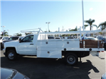 2017 Silverado 3500 Regular Cab DRW, Harbor Standard Contractor Contractor Body #M17476 - photo 5