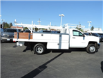2017 Silverado 3500 Regular Cab DRW, Harbor Standard Contractor Contractor Body #M17476 - photo 8