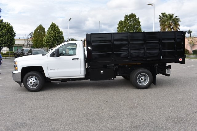 2017 Silverado 3500 Regular Cab, Knapheide Landscape Dump #M17483 - photo 6