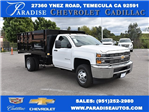 2017 Silverado 3500 Regular Cab, Knapheide Landscape Dump #M17483 - photo 1