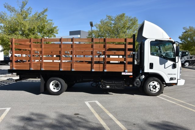 2017 LCF 4500 Regular Cab 4x2,  American Truck Bodies Flat/Stake Bed #M17485 - photo 9
