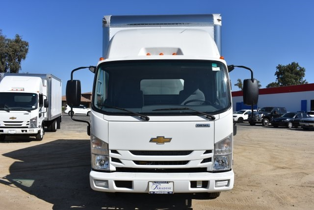 2017 LCF 4500 Regular Cab 4x2,  American Truck Bodies Straight Box #M17485 - photo 4