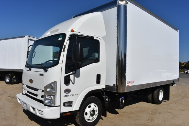 2017 LCF 4500 Regular Cab 4x2,  American Truck Bodies Straight Box #M17485 - photo 5