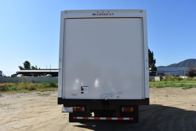 2017 LCF 4500 Regular Cab 4x2,  American Truck Bodies Straight Box #M17485 - photo 7