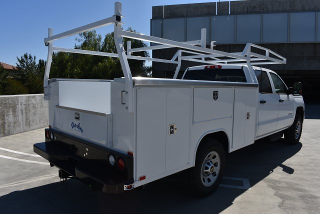 2017 Silverado 3500 Crew Cab, Harbor Utility #M17540 - photo 2