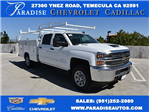 2017 Silverado 3500 Crew Cab, Harbor Utility #M17540 - photo 1