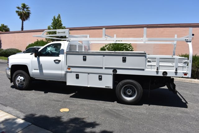 2017 Silverado 3500 Regular Cab, Knapheide Contractor Body #M17593 - photo 6
