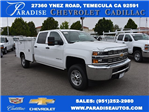 2017 Silverado 2500 Crew Cab, Harbor Utility #M17597 - photo 1