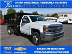 2017 Silverado 3500 Regular Cab, Knapheide Landscape Dump #M17598 - photo 1