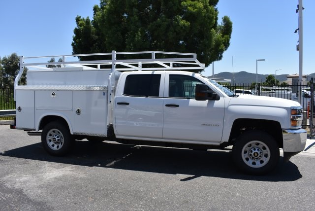 2017 Silverado 3500 Crew Cab, Royal Utility #M17617 - photo 8