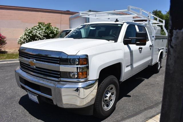2017 Silverado 3500 Crew Cab, Royal Utility #M17617 - photo 4