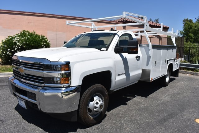 2017 Silverado 3500 Regular Cab, Harbor Combo Body #M17620 - photo 5