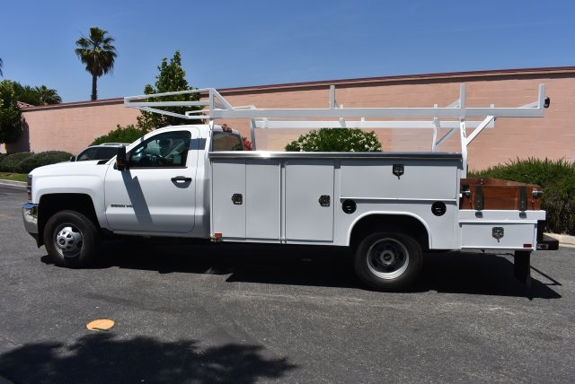 2017 Silverado 3500 Regular Cab, Harbor Combo Body #M17620 - photo 6