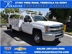 2017 Silverado 3500 Regular Cab, Harbor Combo Body #M17620 - photo 1