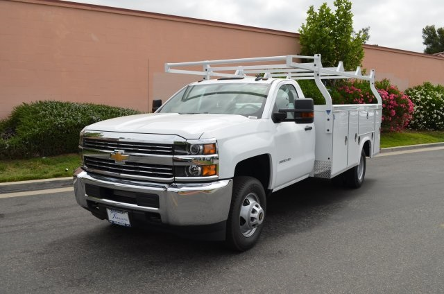 2017 Silverado 3500 Regular Cab, Royal Utility #M17621 - photo 7
