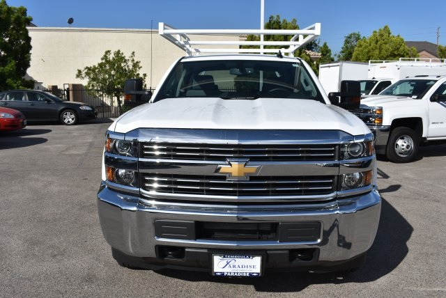 2017 Silverado 3500 Crew Cab, Harbor Utility #M17624 - photo 4