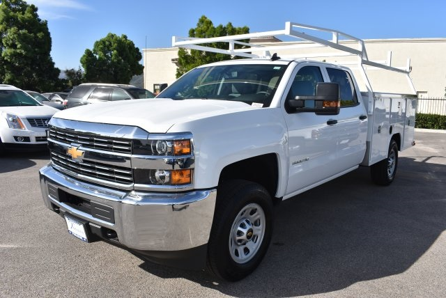 2017 Silverado 3500 Crew Cab, Harbor Utility #M17624 - photo 5