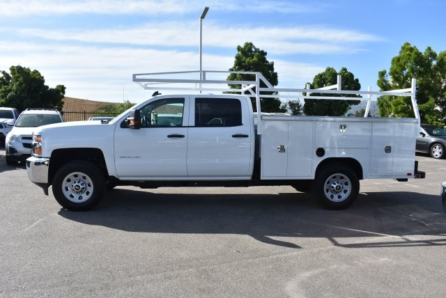 2017 Silverado 3500 Crew Cab, Harbor Utility #M17624 - photo 6