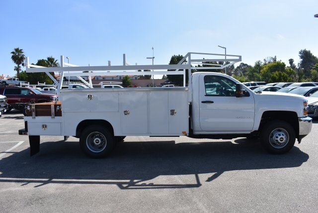 2017 Silverado 3500 Regular Cab, Harbor Combo Body #M17627 - photo 9