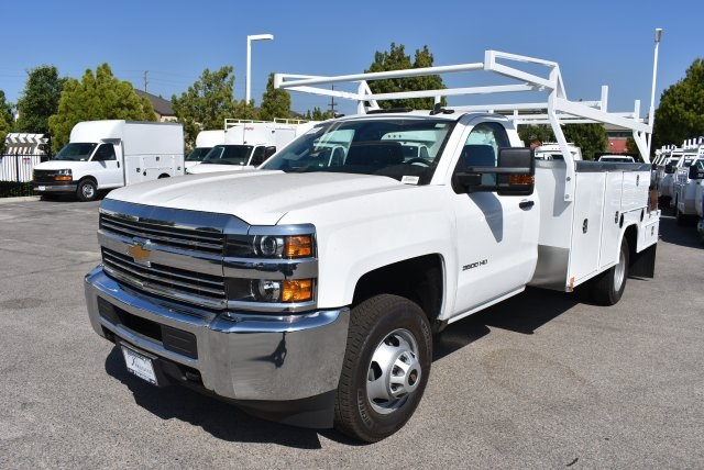 2017 Silverado 3500 Regular Cab, Harbor Combo Body #M17627 - photo 5