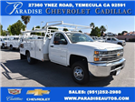 2017 Silverado 3500 Regular Cab, Harbor Combo Body #M17627 - photo 1