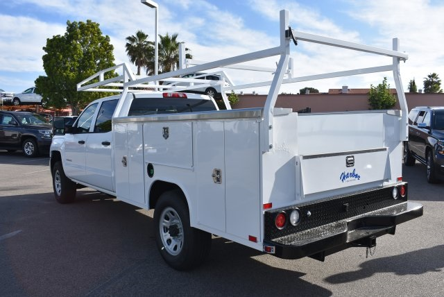 2017 Silverado 3500 Crew Cab, Harbor Utility #M17636 - photo 7