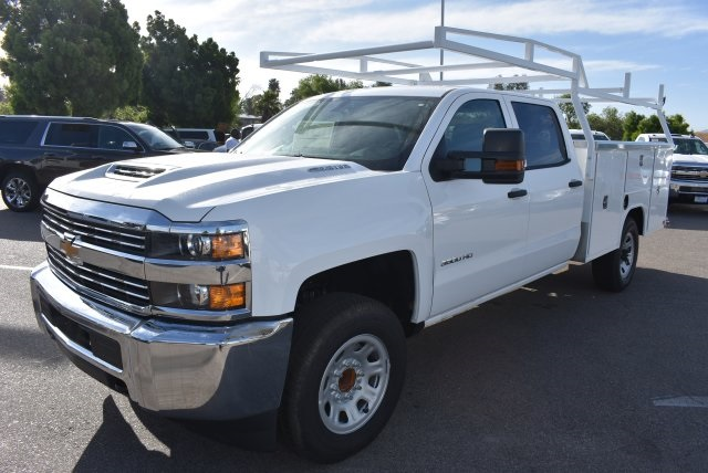 2017 Silverado 3500 Crew Cab, Harbor Utility #M17637 - photo 5