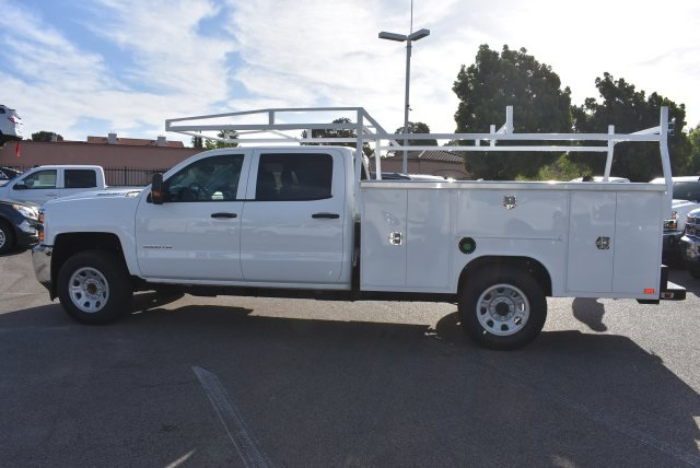2017 Silverado 3500 Crew Cab, Harbor Utility #M17637 - photo 6