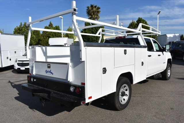 2017 Silverado 3500 Crew Cab, Harbor Utility #M17637 - photo 2