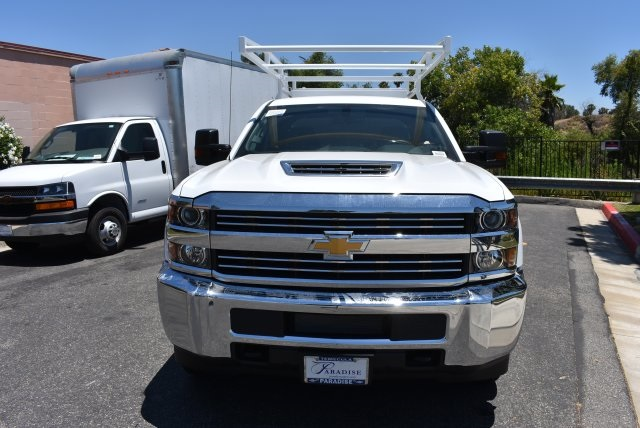 2017 Silverado 3500 Crew Cab, Harbor Utility #M17638 - photo 3