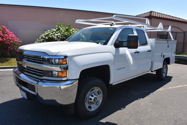 2017 Silverado 2500 Double Cab, Scelzi Utility #M17646 - photo 4