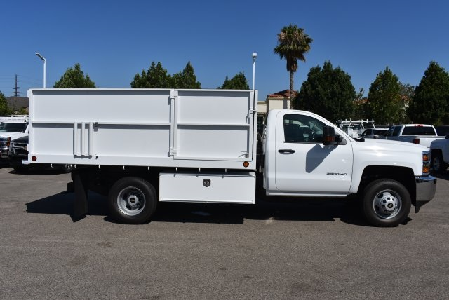 2017 Silverado 3500 Regular Cab, Ironside Landscape Dump #M17658 - photo 9
