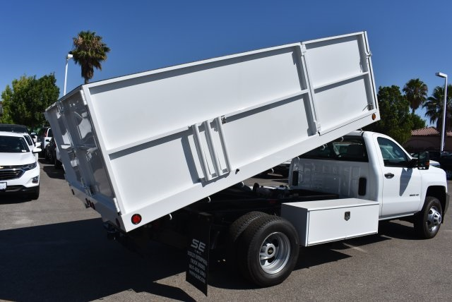 2017 Silverado 3500 Regular Cab, Scelzi Landscape Dump #M17660 - photo 14