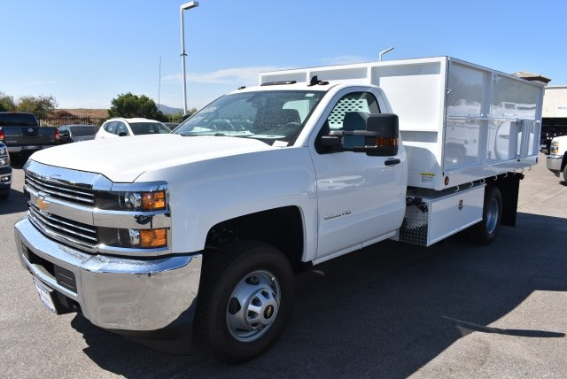 2017 Silverado 3500 Regular Cab, Scelzi Landscape Dump #M17660 - photo 4