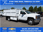 2017 Silverado 3500 Regular Cab, Scelzi Landscape Dump #M17660 - photo 1
