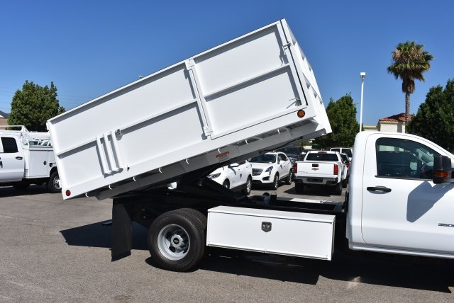 2017 Silverado 3500 Regular Cab, Ironside Landscape Dump #M17662 - photo 14