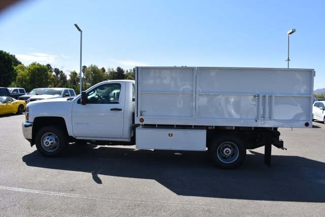 2017 Silverado 3500 Regular Cab, Ironside Landscape Dump #M17662 - photo 6