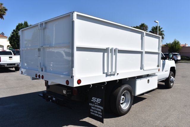 2017 Silverado 3500 Regular Cab, Ironside Landscape Dump #M17662 - photo 2