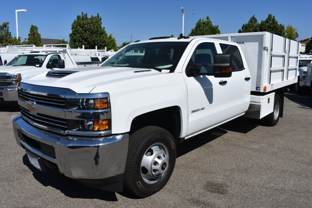 2017 Silverado 3500 Crew Cab, Harbor Landscape Dump #M17671 - photo 4