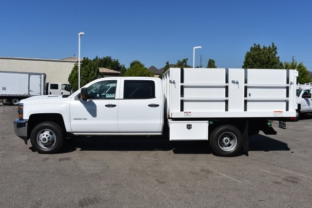 2017 Silverado 3500 Crew Cab, Harbor Landscape Dump #M17671 - photo 5