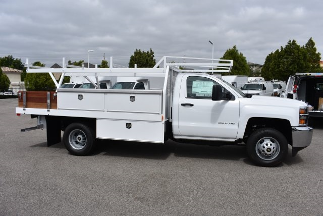 2017 Silverado 3500 Regular Cab, Harbor Combo Body #M17672 - photo 9