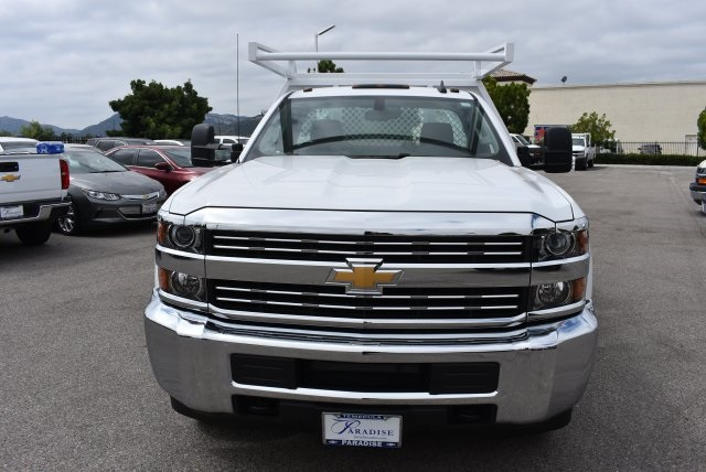 2017 Silverado 3500 Regular Cab, Harbor Combo Body #M17672 - photo 4