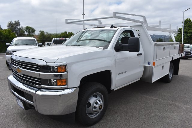 2017 Silverado 3500 Regular Cab, Harbor Combo Body #M17672 - photo 5