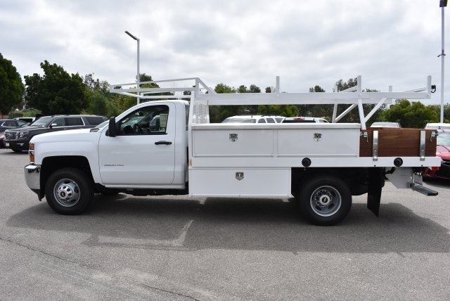 2017 Silverado 3500 Regular Cab, Harbor Combo Body #M17672 - photo 6