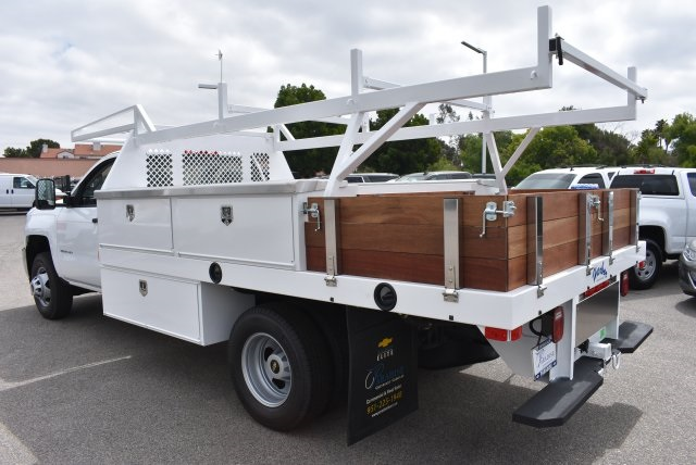 2017 Silverado 3500 Regular Cab, Harbor Combo Body #M17672 - photo 7